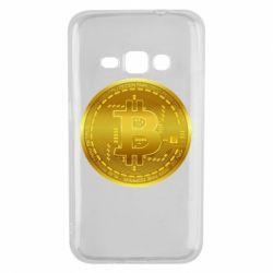 Чохол для Samsung J1 2016 Bitcoin coin