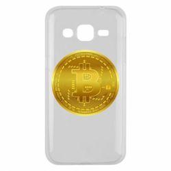 Чохол для Samsung J2 2015 Bitcoin coin