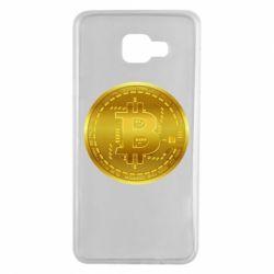 Чохол для Samsung A7 2016 Bitcoin coin