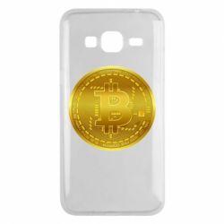 Чохол для Samsung J3 2016 Bitcoin coin