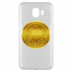 Чохол для Samsung J4 Bitcoin coin