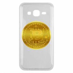 Чохол для Samsung J5 2015 Bitcoin coin