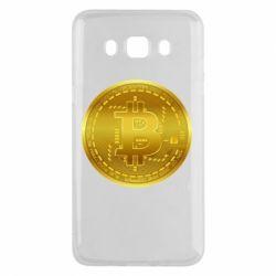 Чохол для Samsung J5 2016 Bitcoin coin