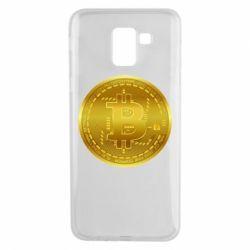 Чохол для Samsung J6 Bitcoin coin
