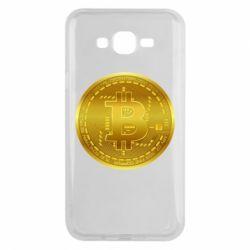 Чохол для Samsung J7 2015 Bitcoin coin
