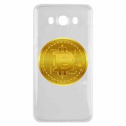 Чохол для Samsung J7 2016 Bitcoin coin