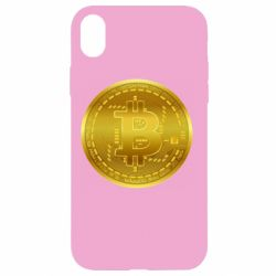 Чохол для iPhone XR Bitcoin coin