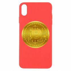 Чохол для iPhone Xs Max Bitcoin coin