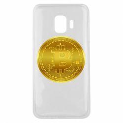 Чохол для Samsung J2 Core Bitcoin coin