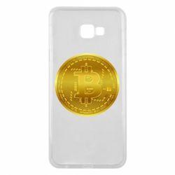 Чохол для Samsung J4 Plus 2018 Bitcoin coin