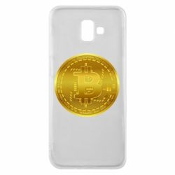 Чохол для Samsung J6 Plus 2018 Bitcoin coin