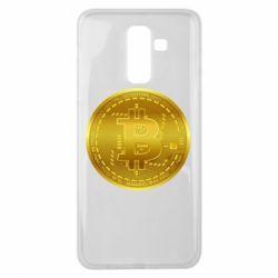 Чохол для Samsung J8 2018 Bitcoin coin