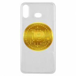 Чохол для Samsung A6s Bitcoin coin