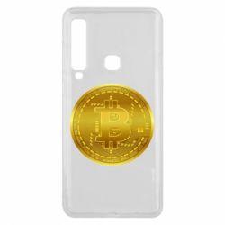 Чохол для Samsung A9 2018 Bitcoin coin