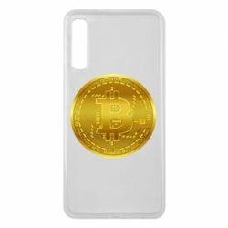 Чохол для Samsung A7 2018 Bitcoin coin