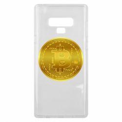 Чохол для Samsung Note 9 Bitcoin coin