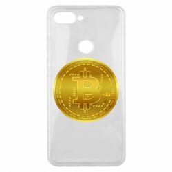 Чохол для Xiaomi Mi8 Lite Bitcoin coin