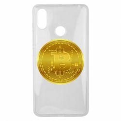 Чохол для Xiaomi Mi Max 3 Bitcoin coin
