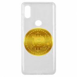 Чохол для Xiaomi Mi Mix 3 Bitcoin coin