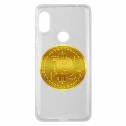 Чохол для Xiaomi Redmi Note Pro 6 Bitcoin coin