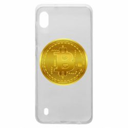 Чохол для Samsung A10 Bitcoin coin