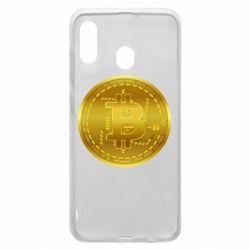 Чохол для Samsung A20 Bitcoin coin