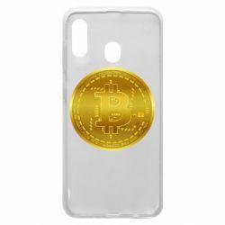 Чохол для Samsung A30 Bitcoin coin
