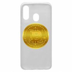 Чохол для Samsung A40 Bitcoin coin