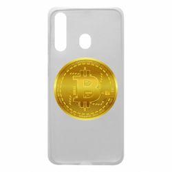 Чохол для Samsung A60 Bitcoin coin