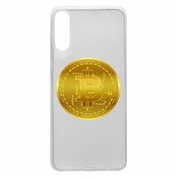 Чохол для Samsung A70 Bitcoin coin
