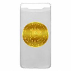 Чохол для Samsung A80 Bitcoin coin