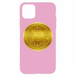 Чохол для iPhone 11 Bitcoin coin
