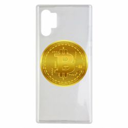 Чохол для Samsung Note 10 Plus Bitcoin coin
