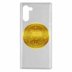 Чохол для Samsung Note 10 Bitcoin coin