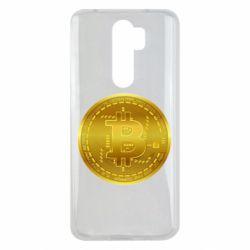 Чохол для Xiaomi Redmi Note 8 Pro Bitcoin coin