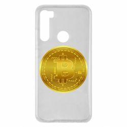 Чохол для Xiaomi Redmi Note 8 Bitcoin coin
