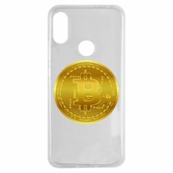 Чохол для Xiaomi Redmi Note 7 Bitcoin coin