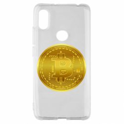 Чохол для Xiaomi Redmi S2 Bitcoin coin