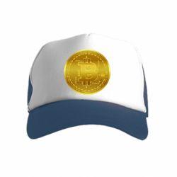 Дитяча кепка-тракер Bitcoin coin