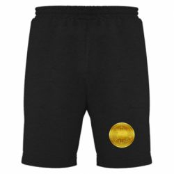 Чоловічі шорти Bitcoin coin