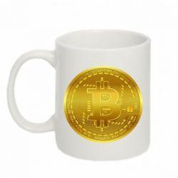 Кружка 320ml Bitcoin coin