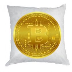 Подушка Bitcoin coin