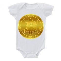 Дитячий бодік Bitcoin coin