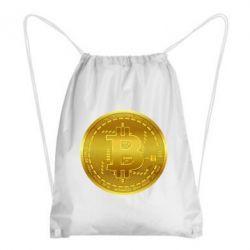 Рюкзак-мішок Bitcoin coin