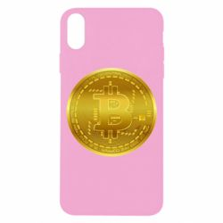 Чохол для iPhone X/Xs Bitcoin coin