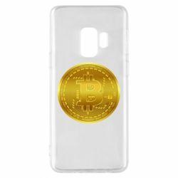 Чохол для Samsung S9 Bitcoin coin