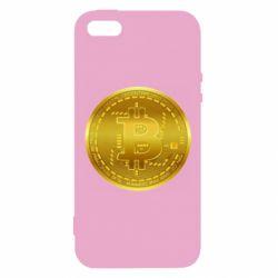 Чохол для iphone 5/5S/SE Bitcoin coin