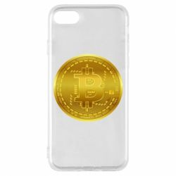 Чохол для iPhone 7 Bitcoin coin