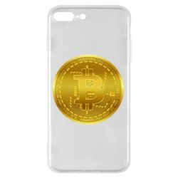 Чохол для iPhone 7 Plus Bitcoin coin