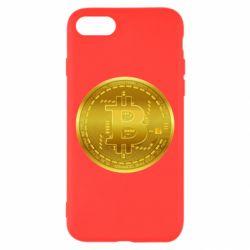 Чохол для iPhone 8 Bitcoin coin
